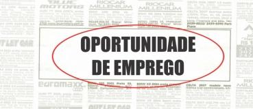 OFERTA DE EMPREGO  - AUXILIAR DE SERVIÇOS GERAIS